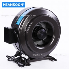 10 Inches 250 Hydroponics Ventilation Exhaust Inline Duct Fan