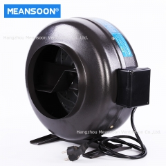 8 Inches 200 Inline Duct Ventilation Exhaust Fan for Greenhouse