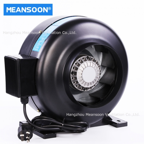 160 Water Smoke Resistant Duct Inline Fans for Kitchen