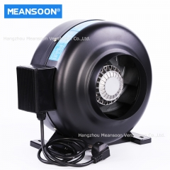 6 Inches 150 water Smoke Resistant Inline Duct Fans with Sealed Motor
