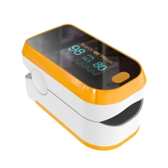 Pulse Oximeter, Finger pulse oximeter, oxygen saturation monitor, oxygen monitor for fingertip, battery powered operation, LCD digital display.