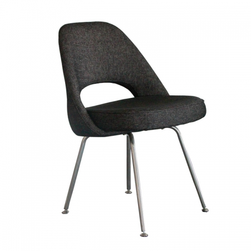 Replica Designer Furniture Saarinen Executive Side Chair With Stainless Steel Legs