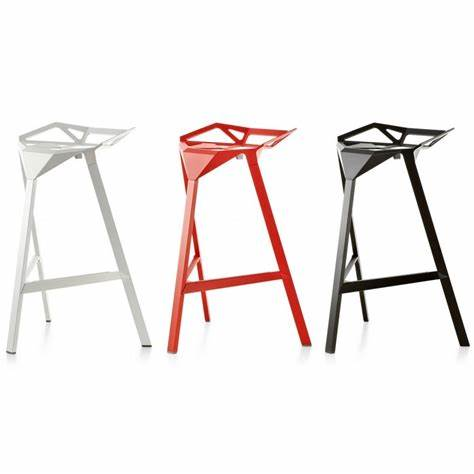 Indoor Aluminium Stackable magis one bar chair