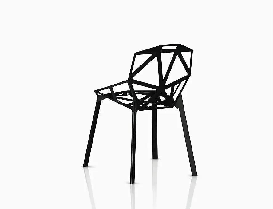 Chair One | Although the edges and corners are distinct, but ta is very beautiful