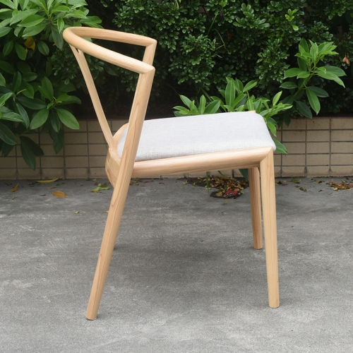 Modern Classic Designer Furniture Wood Y shaped dining chair