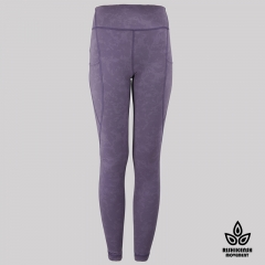 Speed Up High-Rise Yoga Tights in Purple