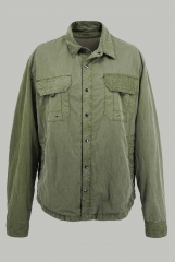 Gray-green men's jac...
