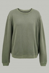 Grey green pullover