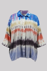 Colorful tie dyed lo...