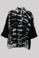 Tie dyed loose shirt