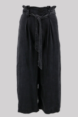Black wide leg pants...