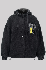 Teddy Hooded Fleece ...