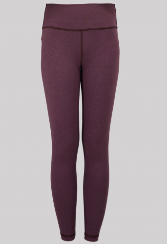 Faster High-Rise Yoga Tights in Cassis Faster
