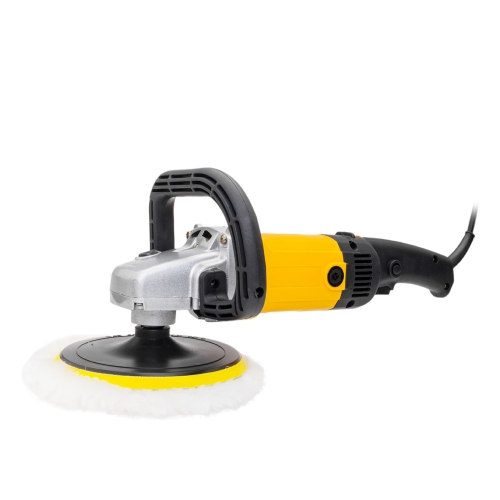 "7"" 1600W Variable Speed Polishing Machine Black & Yellow"