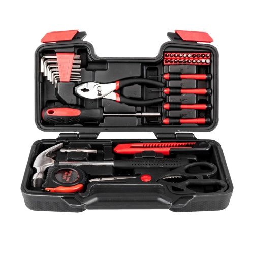 39pcs Tool Kit Red Hand Tools with Good Quality