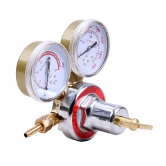 CGA510 Acetylene Regulator for Cutting & Welding Kit Golden & White & Green