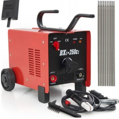 250 Amp Arc Welder 110/220 Dual Voltage AC Welding Machine with Face Mask