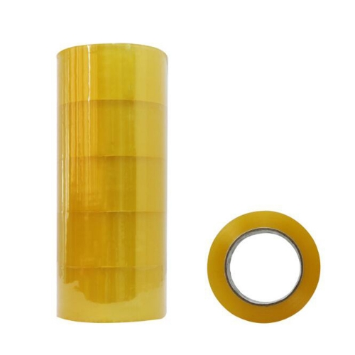 50u * 53mm * 130Y Sealing Tape 100 Rolls / Case Transparent