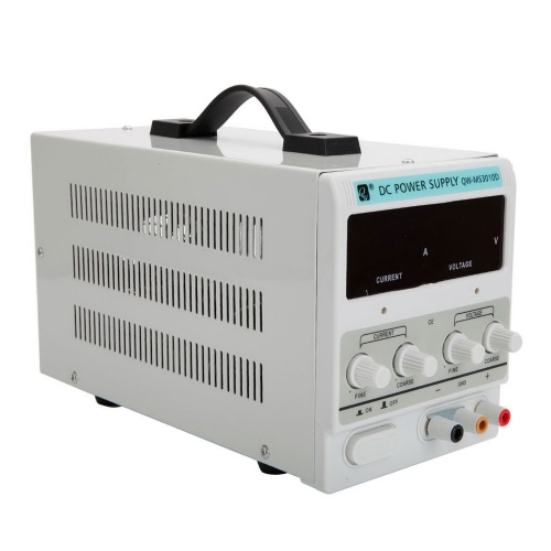QW-MS305D 30V 10A Adjustable DC Stabilizer Power Supply (US Standard)