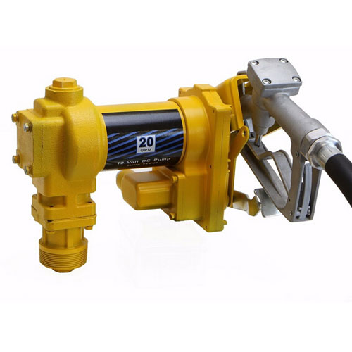 12V Explosion-proof Petrol Pump Assembly Set Yellow