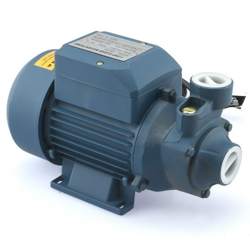 QB60 Household Industrial Centrifugal Clear Water Pool Pump Navy Blue