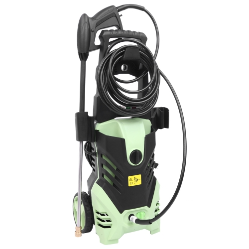 1800W 3000PSI 1.7GPM Electric High Pressure Washer Cleaner Machine Green