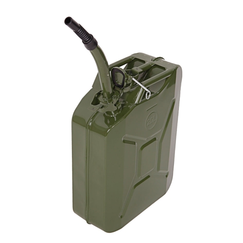 20L Portable American Fuel Oil Petrol Diesel Storage Can Army Green