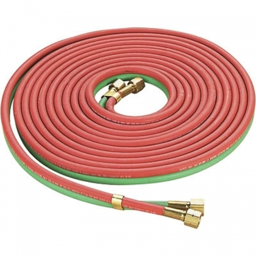 25ft Oxy-acetylene Twin Welding Hose Red & Green