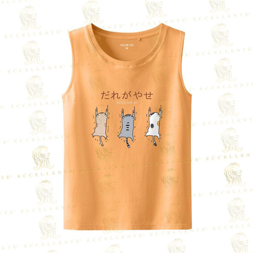 Cartoon Figure Tank