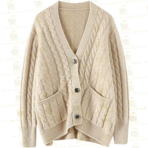 Classic Cardigan with Button