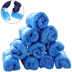 200 Pieces Of Disposable Shoe Covers & Boot Covers 100 Pairs Of Plastic Shoe Covers Waterproof Inner Shoe Covers For Children Women Men