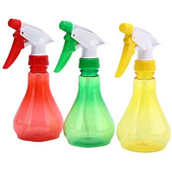3Pcs 250ml Plastic Empty Spray Bottle Flower Sprayer With Adjustable Spray Head, Sprayer, Sprayer Plant Flower Garden Hair Salon