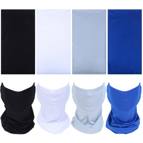 8Pcs Mens Neck Gaiter Scarf Bandana Balaclava Face Scarf For Womens