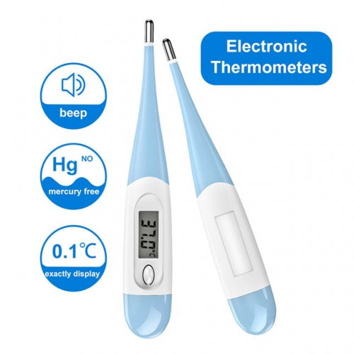 100 pcs Disposable Probe Thermometer Covers, Electronic LCD Digital Thermometers