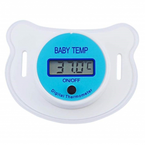 Baby Pacifier Thermometer with LCD Display