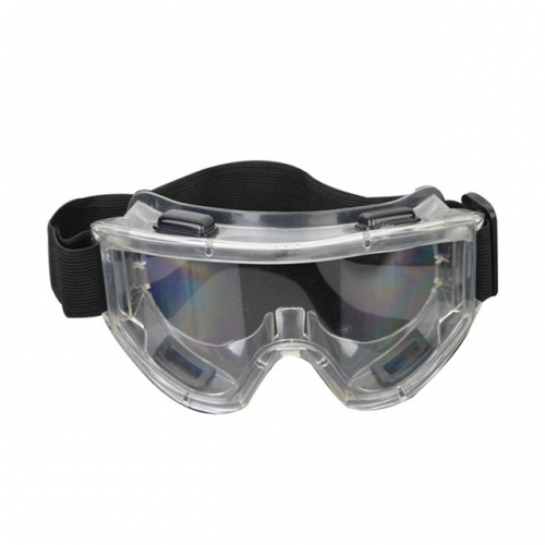 1 Piece Of Eye Protection Goggles With Elastic Band Factory Lab Work Against Liquid Splashes Dust