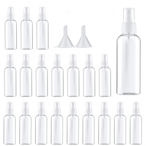 60ml / 2 Oz Small Spray Bottle, Perfume Atomizer, Portable Travel Bottle Set With Funnel, Atomizer, 25 Pcs
