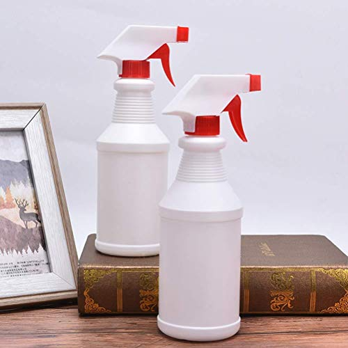 Plastic Water Spray Bottles Leak-Proof Fine Mist Spray Bottle For Household Cleaners 500ml / 16.9 Oz