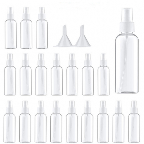 80ml / 2.7 Oz Small Spray Bottle, Perfume Atomizer, Portable Travel Bottle Set With Funnel, Atomizer, 19 Pcs