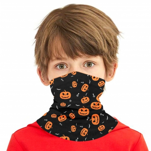 Boys Girls Bandanas Kids Neck Gaiter, Multifunctional UV Protection Headband