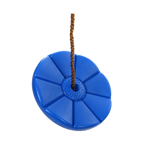 Safe durable outdoor disc plastic children colorful round plastic swing