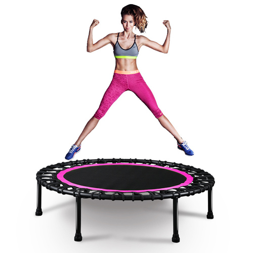 New design Indoor Fitness Kids Safety Round Jumping bed Mini Trampoline