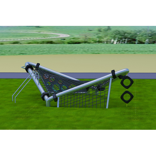 popular kids plastic big commercial outdoor playground equipment