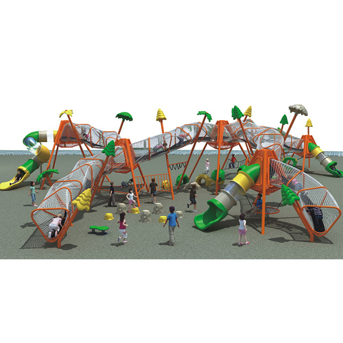 China top quality outdoor play gym commercial kids slide outdoor playground for children