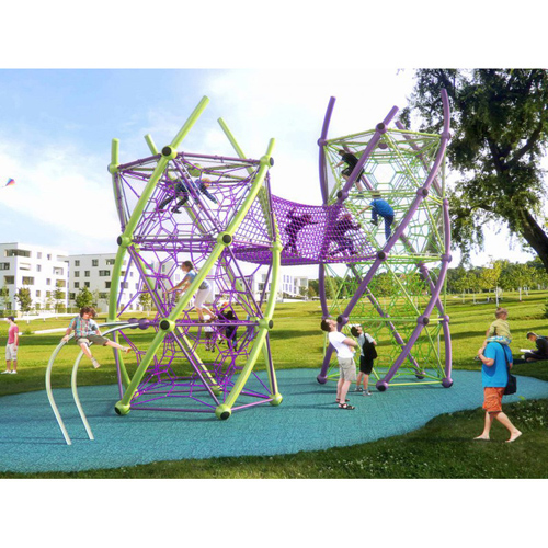 Popular Rope Net Playground Tower