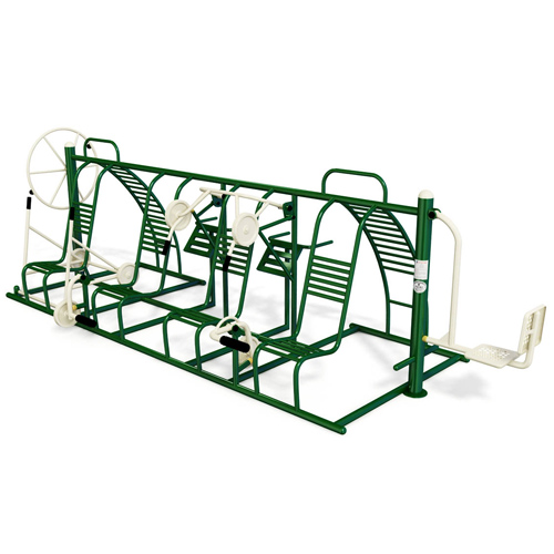 Outdoor Gym Equipment Multifunction Trainer Exercise Machines For Sale KP-JSQ127