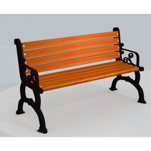 backless commercial outdoor park decorative bench seats wooden bench