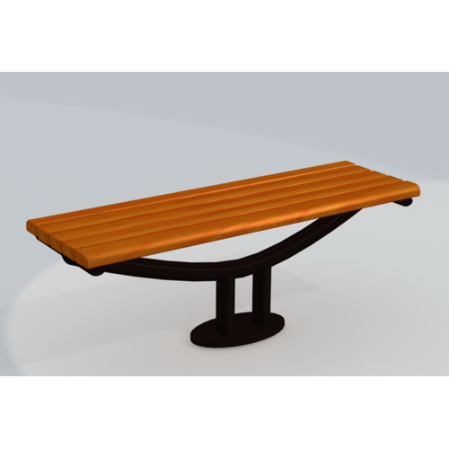 modern outdoor patio furniture wholesalers park garden backless wooden bench