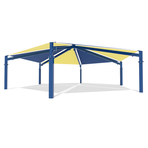 Tensile Membrane Structure Architecture Tent For Rest Area