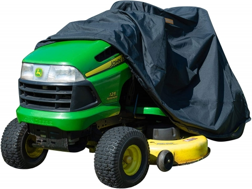 "XYZCTEM Riding Lawn Mower Cover,Fits up to 54"" Decks, Extreme Waterproof Protection and Reflective Strip"